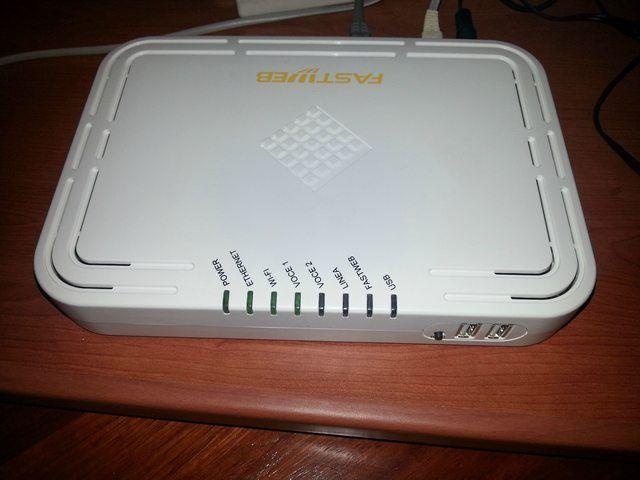 Fastweb modem
